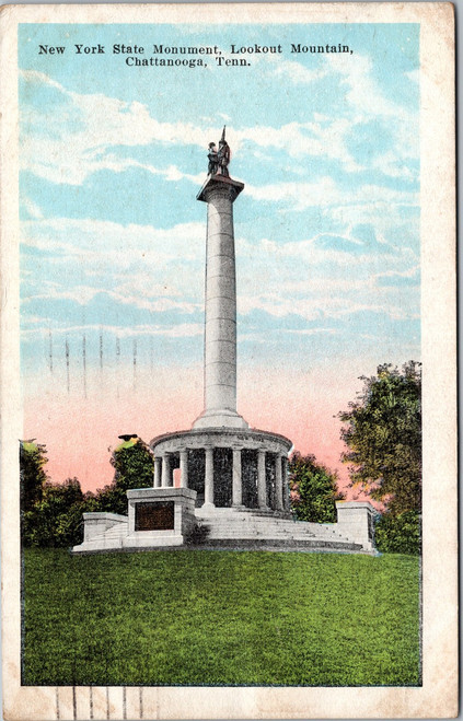 New York State Monument at Lookout Mountain