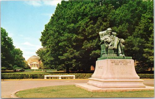 Duke University -  Washington Duke statue