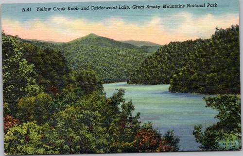 Yellow Creek Knob and Calderwood Lake
