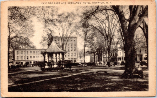 East Side Park and Chenango Hotel