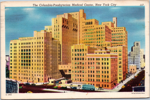 The Columbia-Presbyterian Medical Center - New York City