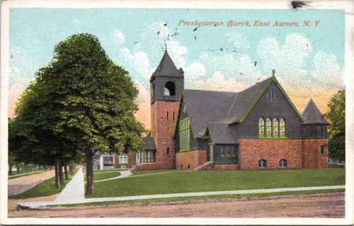 Presbyterian Church, East Aurora, NY