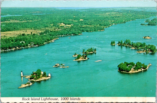 Rock Island Lighthouse, 1000 Islands