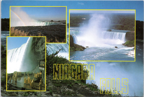 Niagara Falls  - multi view postcard