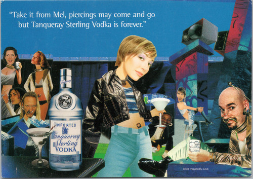 Tanqueray Sterling Vodka - Take it from Mel