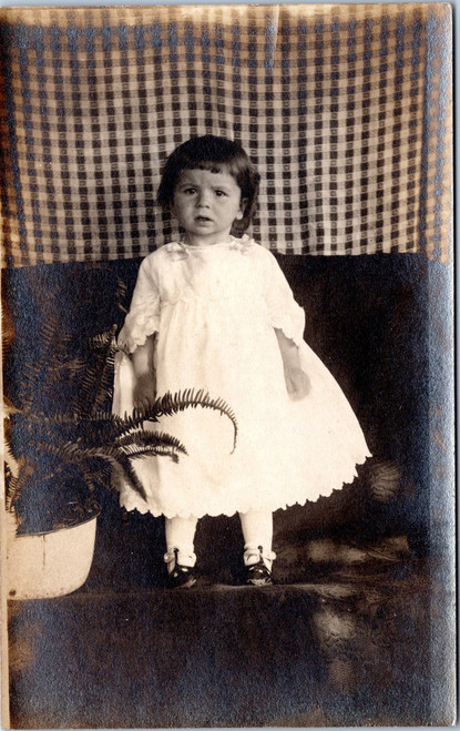 RPPC little girl