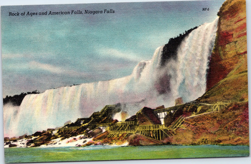 Niagara Falls Rock of Ages and American Falls