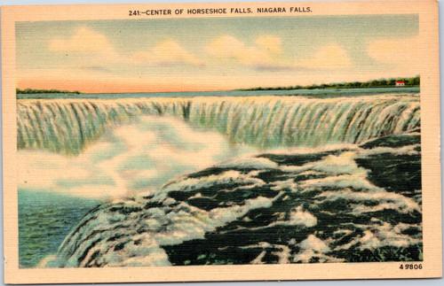 Niagara Falls Center of Horseshoe Falls