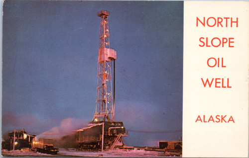 North Slope Oil Well Alaska