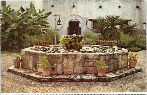 San Antonio Spanish Governor Palace Garden