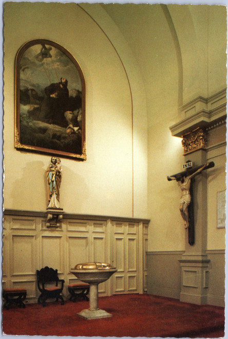 St. Louis Cathedral  - baptismal font