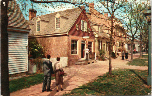 The Margaret Hunter Shop and The Golden Ball - Colonial Williamsburg