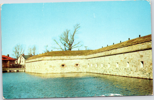 Walls and Moat Fort Monroe