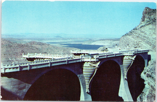 Coolidge Dam and Lake