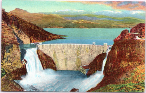 Roosevelt Dam and Lake