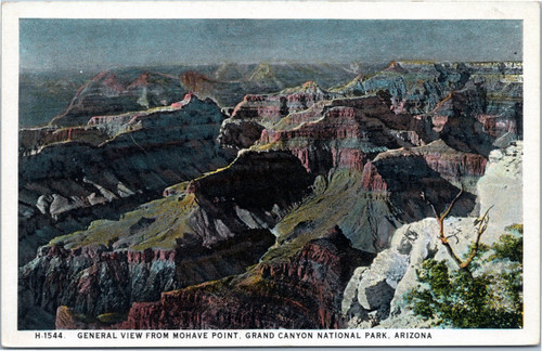 Grand Canyon - General View from Mohave Point (Fred Harvey)