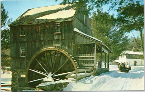 Old Sturbridge Village - Grist Mill -