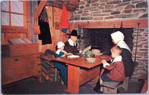 Plimoth Plantation - Pilgrim Family Dinner