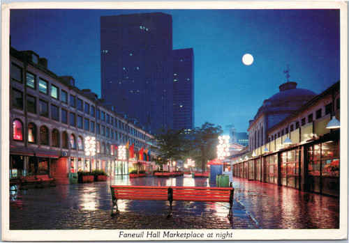 Faneuil Hall Marketplace at Night
