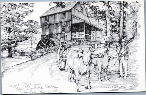 Wight Grist Mill by Charles Overly