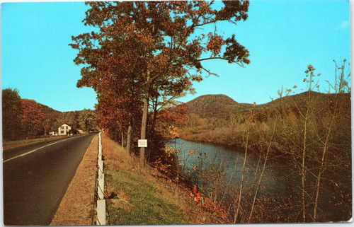 Russel Road overlooking the Westfield River