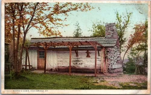 Boone's Cabin, High Bridge