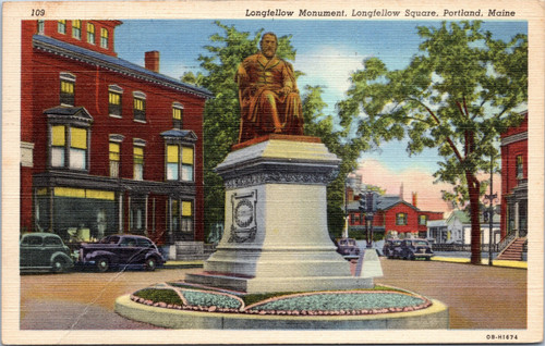 Longfellow Monument