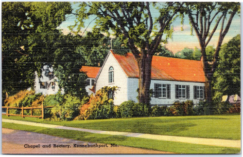 Chapel and Rectory at Kennebunkport