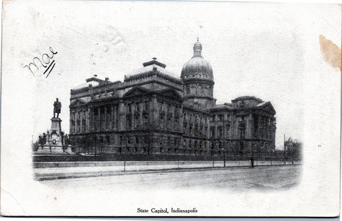 Indiana State Capitol 1908