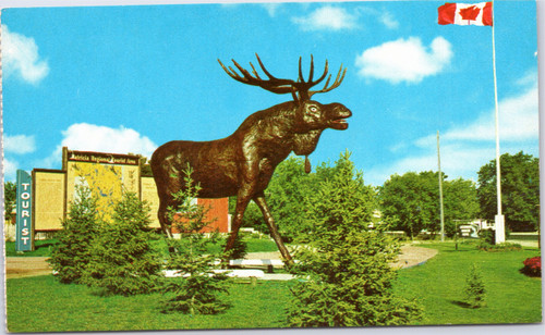 Worlds Largest Moose - Dryden Moose