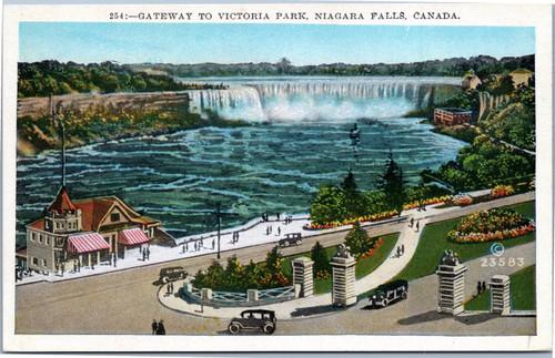 Gateway to Victoria Park, Niagara Falls