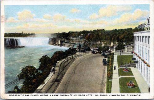 Horseshoe Falls and Victoria Park Entrance