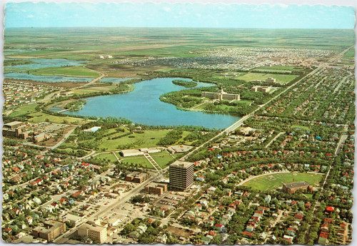 Aerial view of Regina, Saskatchewan