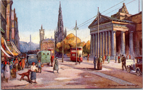 Princess Street Edinburgh