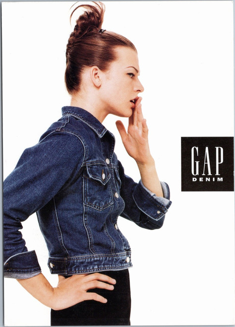 Gap Denim - Milla Jovovich