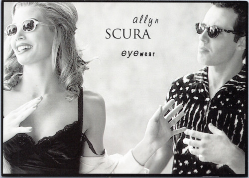 Allyn Scura Eyewear man woman but bella