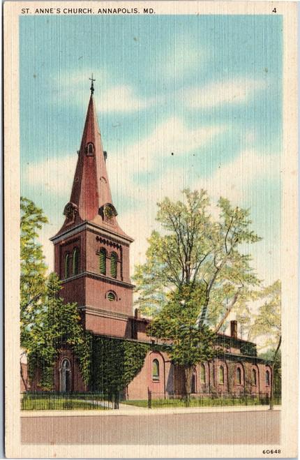 St. Anne's Church Annapolis