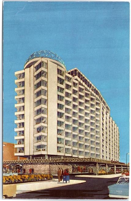 Capp Towers Motor Hotel - artist rendering