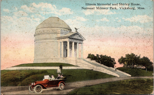 Illinois Memorial and Shirley House, National Military Park
