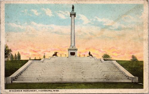Wisconsin Monument Vicksburg Mississippi