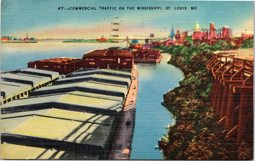 Commerical Traffic on the Mississippi