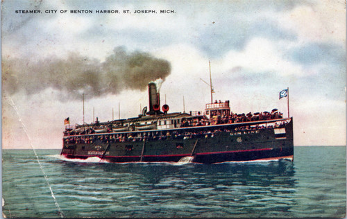 Steamer, City of Benton Harbor