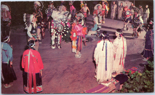 Wisconsin Dells - Stand Rock Indian Ceremonial - The War Dance