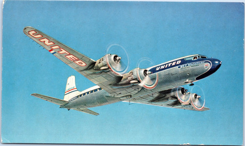 United Airlines DC-7 Mainliner