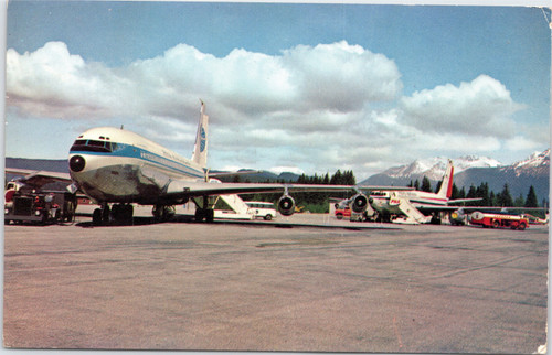 Jets of Pan American Airways and Pacific Northern Airlines