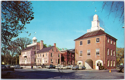 court House and Old Market Building, New Castle Delaware