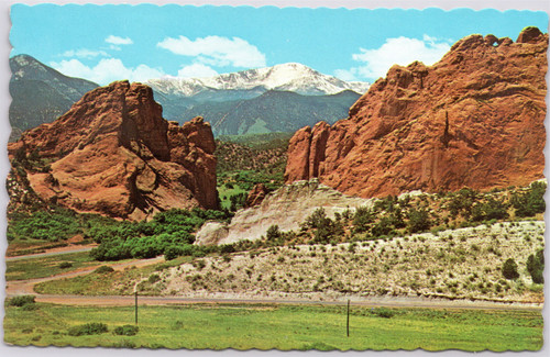 Pikes Peak and Gateway to Garden of the Gods