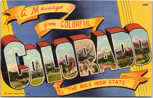 A Message from Colorful Colorado