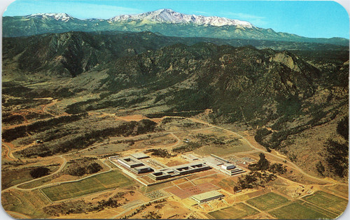 US Air Force Academy and Pikes Peak