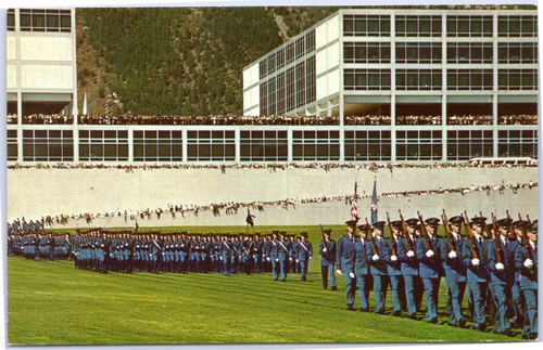 US Air Force Academy - Cadets on Parade